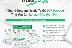 PLR - Passion Profit Download