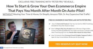 Peter Pru - Six Figure Funnels - Ecommerce Empire Builders