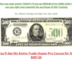 [GET] – Queen Trade Pro ($997) – Formula To Winning 97% of Your Trades Download