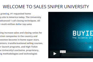 Buyience - Sales Sniper University Download