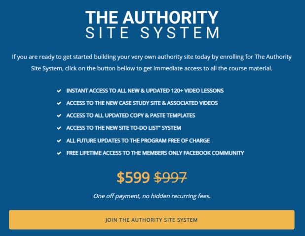 Gael Breton & Mark Webster - The Authority Site System 2019 Download