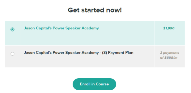 Jason Capital - Power Speaking Academy Download
