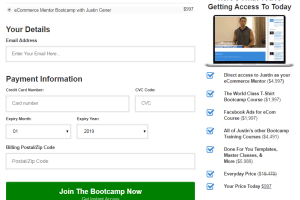 Justin Cener-The eCommerce Bootcamp 2019 Download