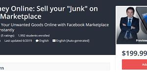 Make Money Online - Sell your Junk on Facebook Marketplace Download