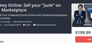 Make Money Online - Sell your Junk on Facebook Marketplace Download