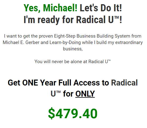 Michael E.Gerber – Radical U Download