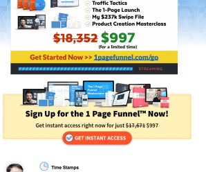 [SUPER HOT SHARE] Brian Moran – 1-Page Funnel Master Class Download
