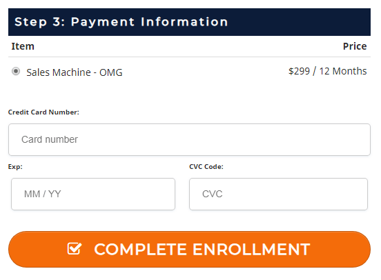OMG Sales Machine - The Road to $30k/Mo