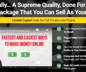 [GET] PLR Sales Funnels – Facebook Ads Download