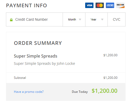 SMB Training - Super Simple Spreads Course Download