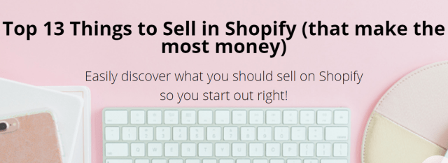 Sara Titus - Top 13 Things to Sell In Shopify Download