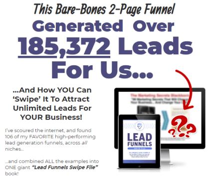 Lead Funnels Swipe File by Clickfunnels Download