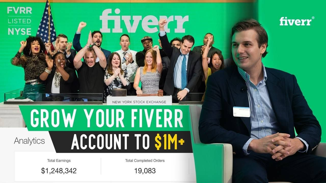 Freelance Hustle - Hustle With Fiverr - Grow Your Fiverr Account To $1M