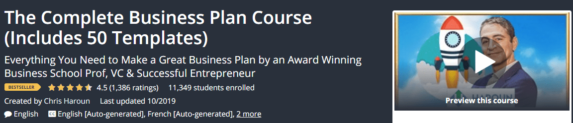 Complete Business Plan Course Download