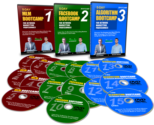 MLM, Facebook, Algorithim Bootcamps and 2 Network Marketing Ebooks Download