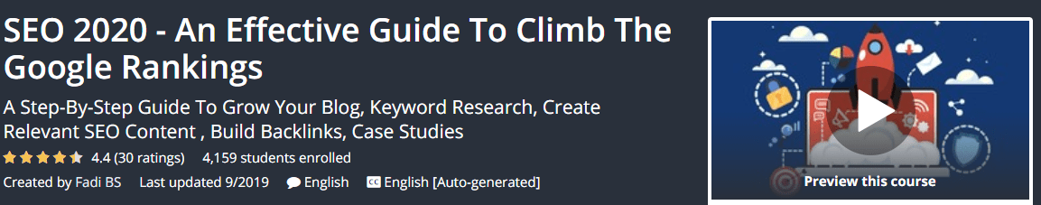 SEO 2020 - An Effective Guide To Climb The Google Rankings Download