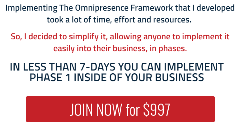 Scott Oldford - Omnipresence In 7 Days Masterclass Download