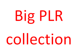 Big PLR collection Download
