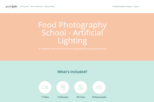 Food Photography School – Artificial Lighting Course Download