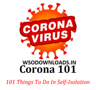 Corona 101 Things To Do In Self Isolation Download