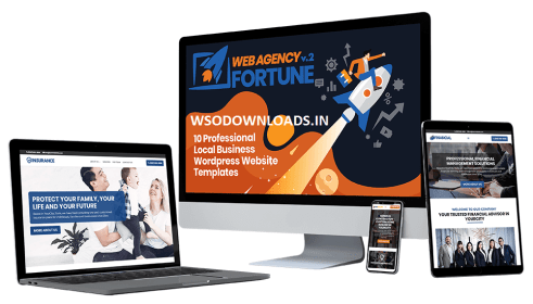 Web Agency Fortune Vol.2 - Ready-to-Use Local Business Websites + OTO Download