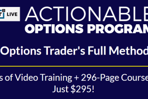 Actionable Options Program - T3 Live Download