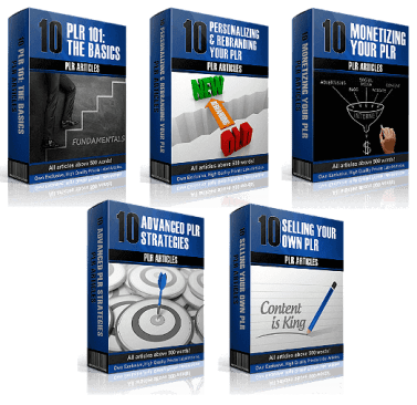 50 'PLR On PLR - From Beginner To Pro' Articles Free Download