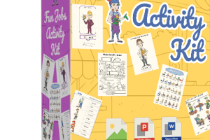 Children's Fun Jobs Activity Kit Free Download
