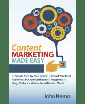 John Nemo - Content Marketing Made Easy Free Download
