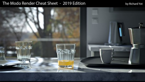 Richard Yot - The Modo Render Cheat Sheet (2019) Free Download