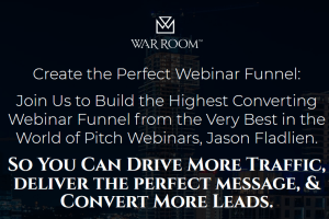 Jason Fladlien – Webinar Funnels (Warroom Mastermind) Download