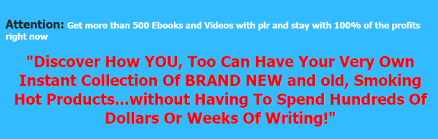 Success PLR Package - Over 500 PLR Products Free Download