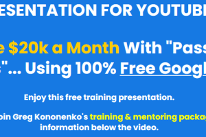 Greg Kononenko's - Caffeinated Niche Profits ( How I Make $20k a Month With Passive Niche Websites..Using 100% Free Google Traffic) Download