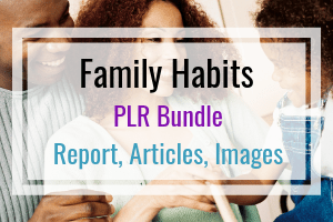 Healthy Home Habits and family PLR + OTO Free Download