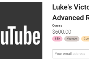 Holly Starks – Luke's Victory Video SEO - Advanced Ranking Download