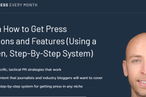 Brian Dean – Get Press Every Month Download
