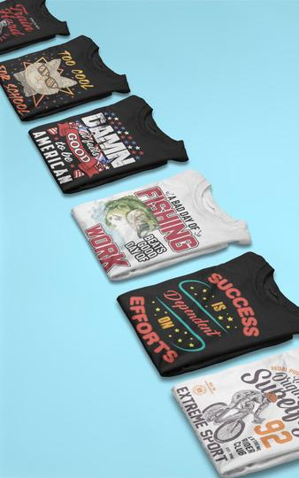 10 Free Editable T-Shirt Designs and $24,747 In Only 1 Month Free Download