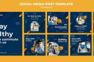 Social Media Ad Banners Templates