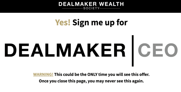 Carl Allen – Dealmaker CEO 2021 Download