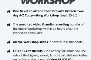 Todd Brown – A-Z Copywriting Workshop Download