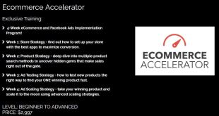 Jon Mac – Ecommerce Accelerator Download