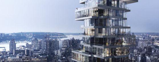 Engineering Sky Villas: 56 Leonard Street, New York | WSP