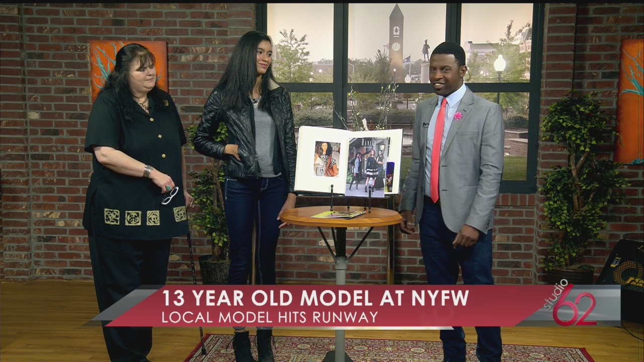 Local 13 year old shares New York Fashion Week experience_24413