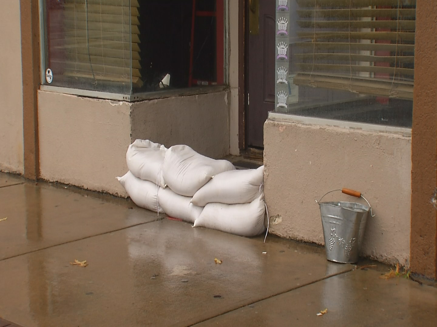 sandbags in Five Points_240340