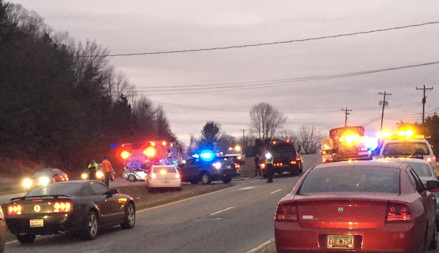 School bus crash Greenville County_319173