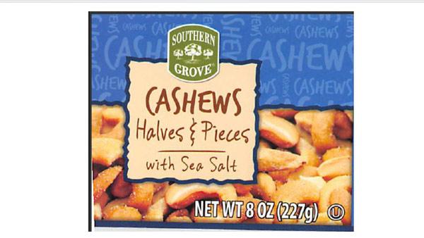 cashew recall_396428