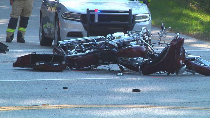 Motorcycle Crash In Spartanburg Co