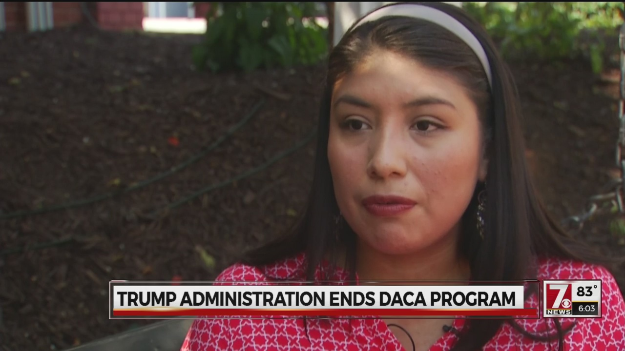 Upstate DACA student concerned about future