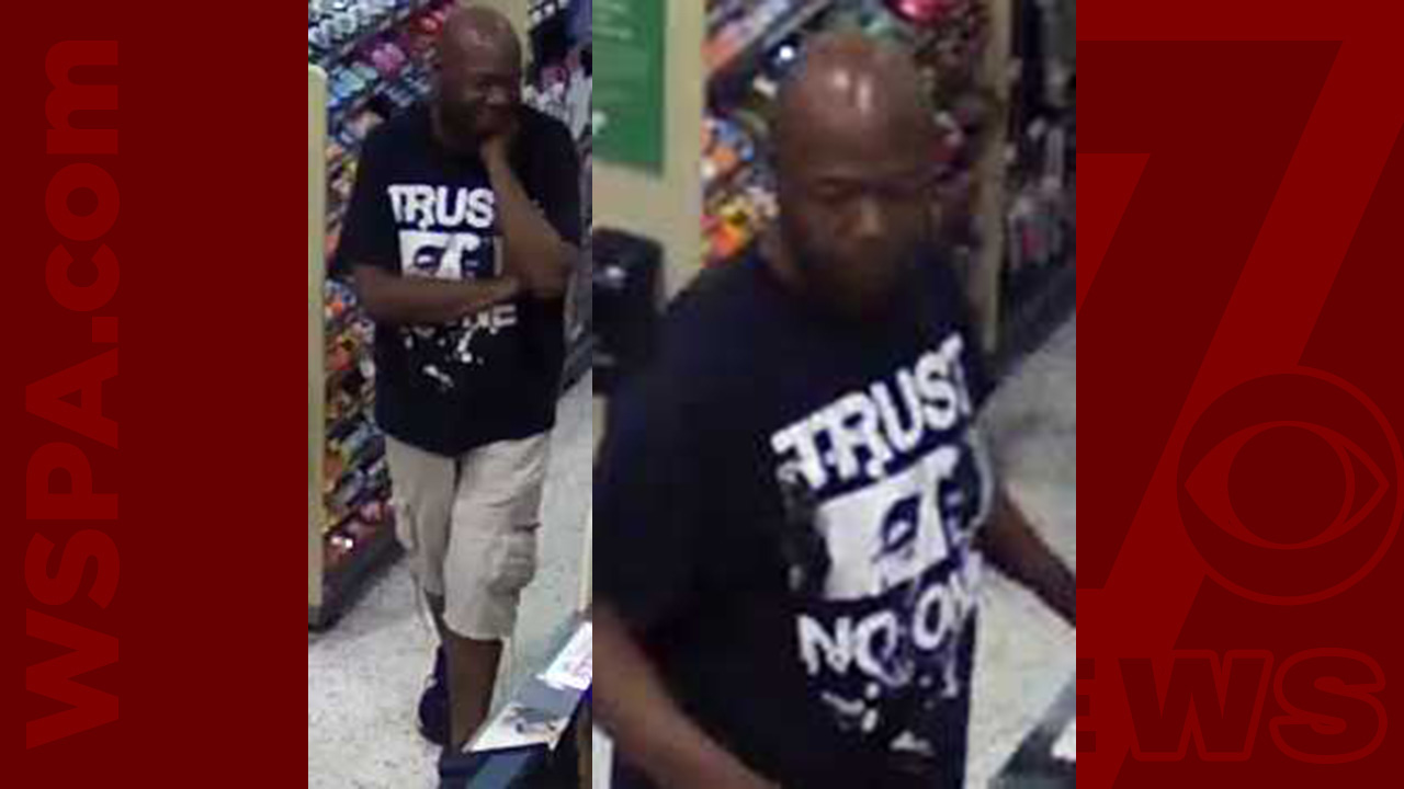 Help ID man accused of check fraud at Greenville Publix