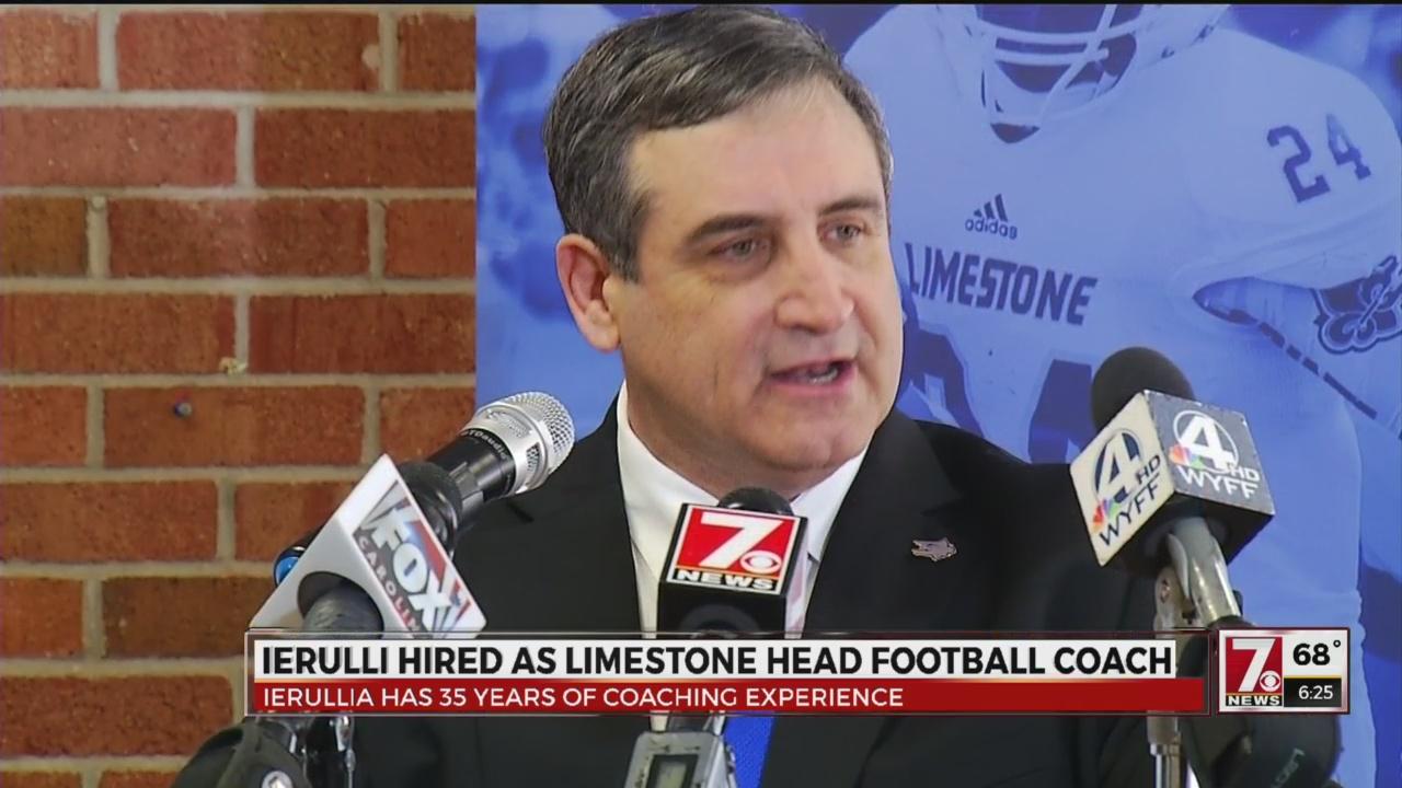 Limestone Names Tony Ierulli as Head Football Coach